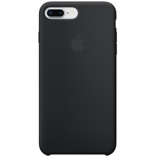 Чехол для телефона Apple Silicon Case для iPhone 7 Plus/8 Plus черный